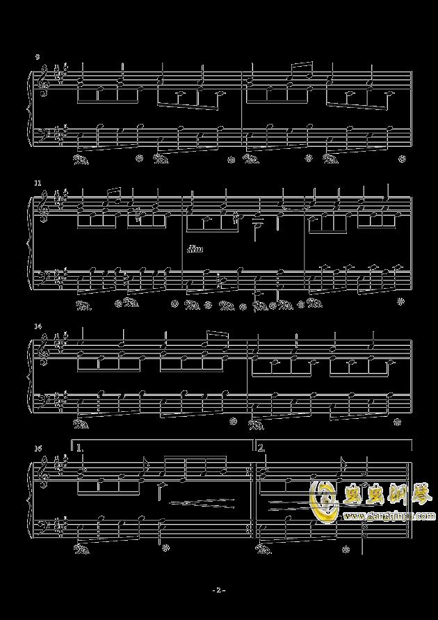 贝多芬欢乐颂的钢琴谱