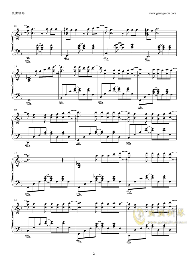 >> 华语女歌手 >> 邓紫棋 >>泡沫钢琴独奏谱(鸠玖版)