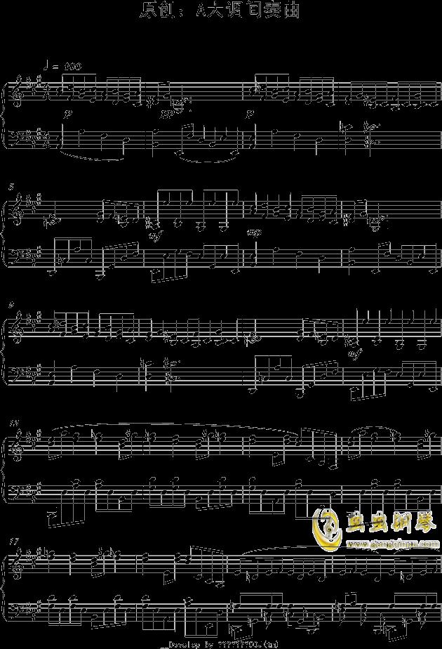 降a大调练习曲 原创:f小调圆舞曲