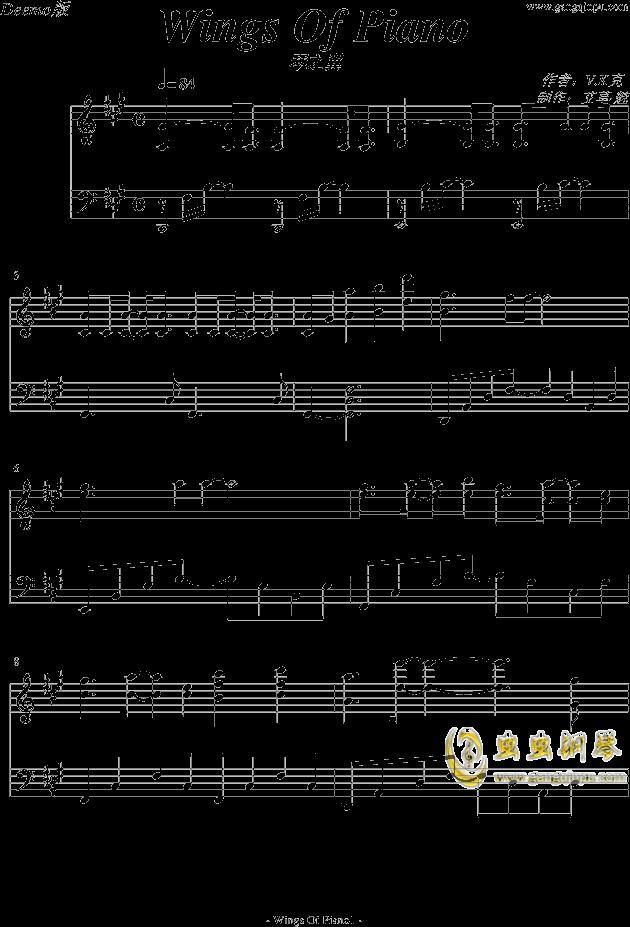 萤火虫钢琴谱图片分享下载