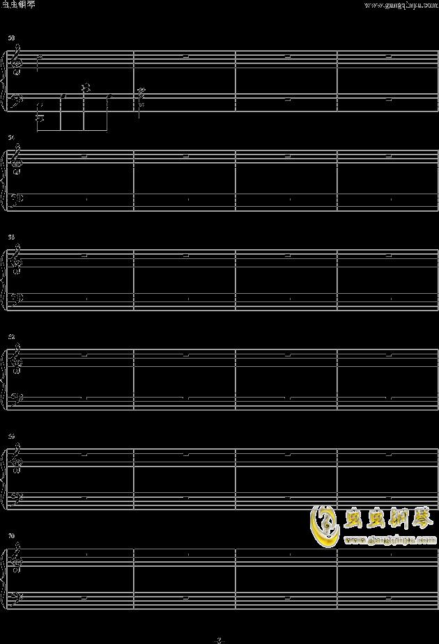 小星星汪苏泷版钢琴谱-汪苏泷-虫虫钢琴谱免费下载