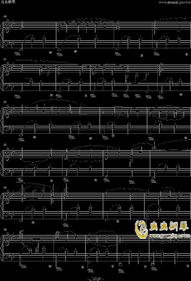 冒险岛背景音乐钢琴谱