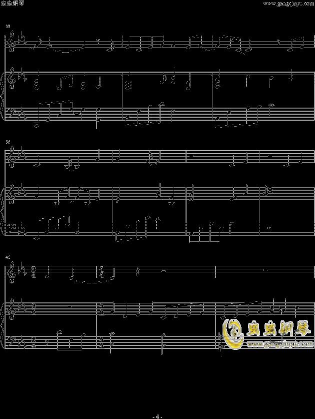 虫虫钢琴 钢琴谱 >> 华语男歌手 >> 胡歌 >>一念执着-胡歌&阿兰