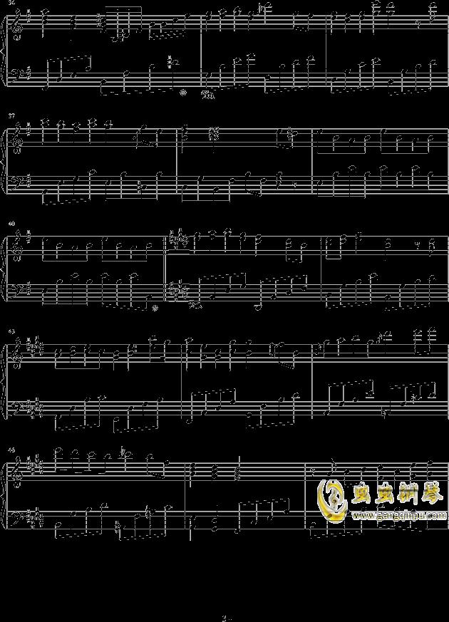 遇见你钢琴谱-ellocz-虫虫钢琴谱免费下载