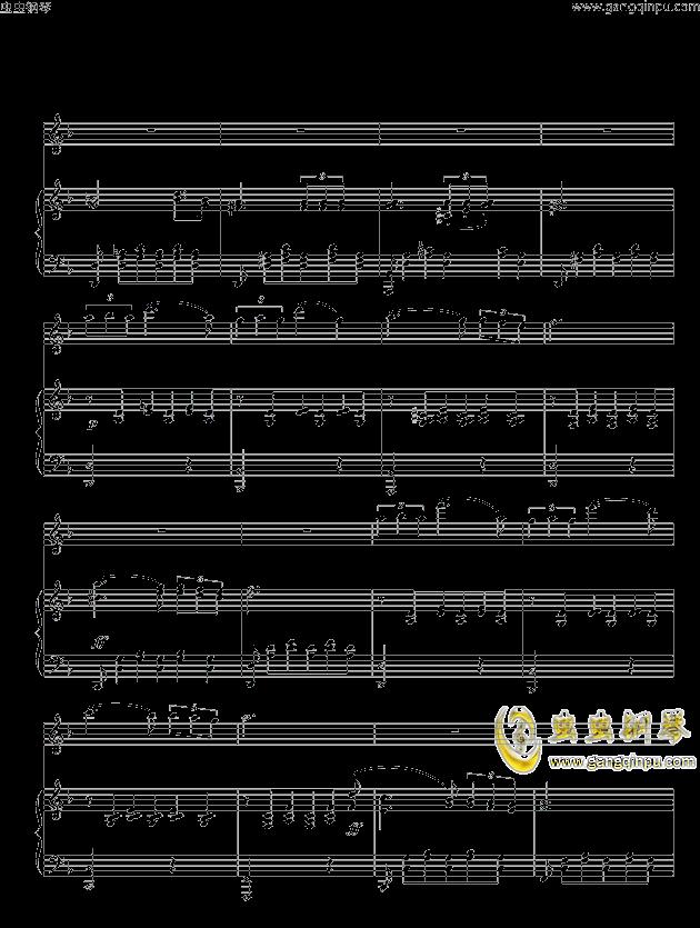 >> 名人名曲 >> 舒伯特 >>舒伯特小夜曲 ove 格式长笛笛钢琴伴奏