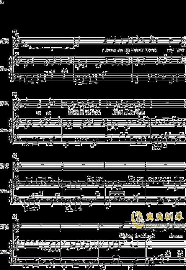 heart(弹唱版)钢琴谱-tfboys-虫虫钢琴谱免费下载