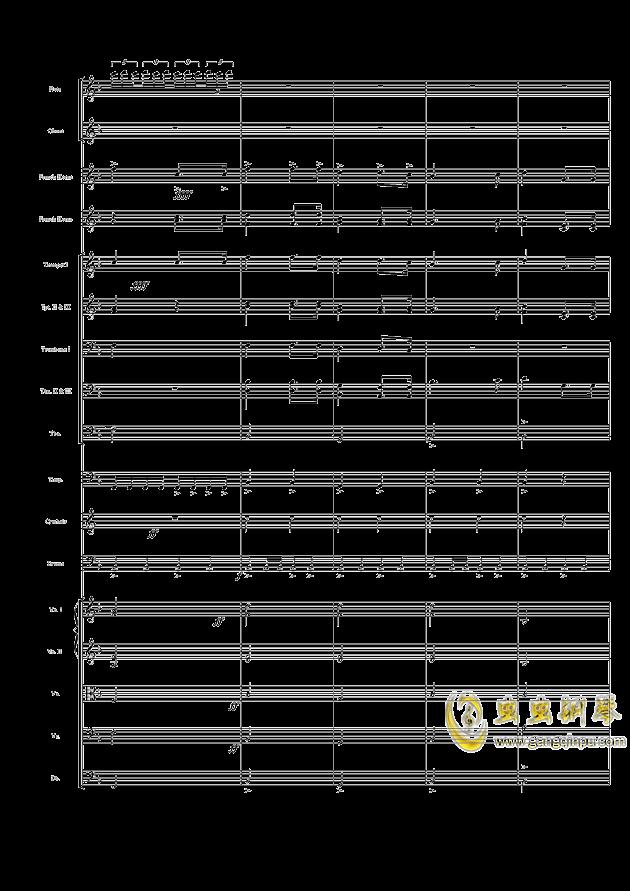 歌唱祖国 c调 钢琴伴奏谱