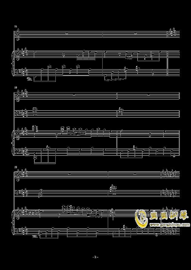 冬日的曲谱_冬日的初舞钢琴曲谱