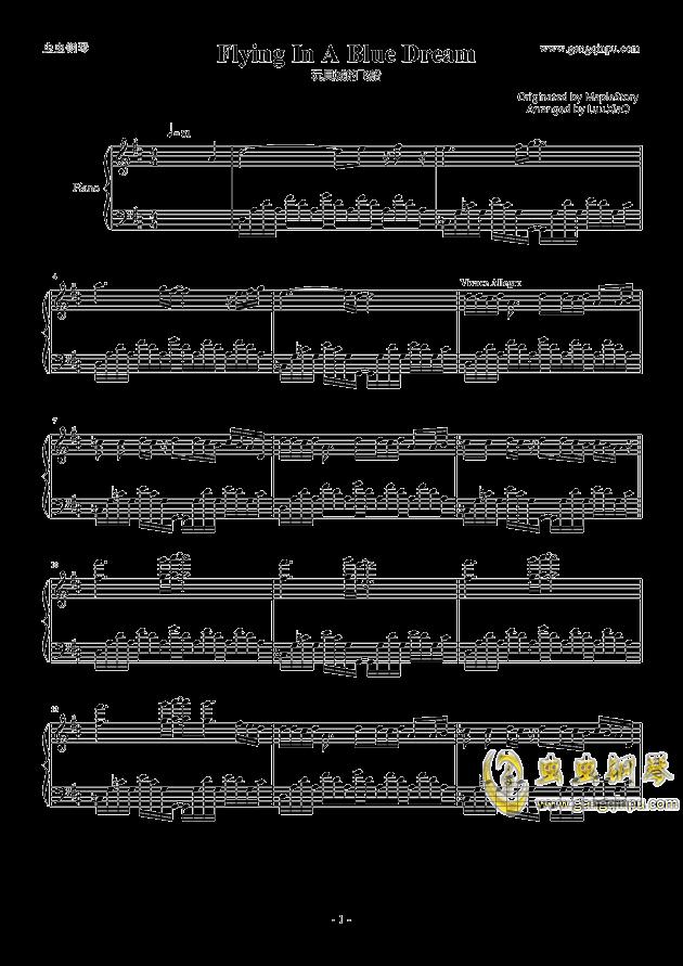 【冒险岛】玩具城飞船bgm钢琴谱-冒险岛-虫虫钢琴谱