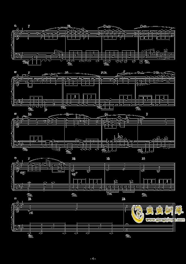 虫虫钢琴 钢琴谱 >> 华语男歌手 >> 罗志祥 >>不具名的悲伤