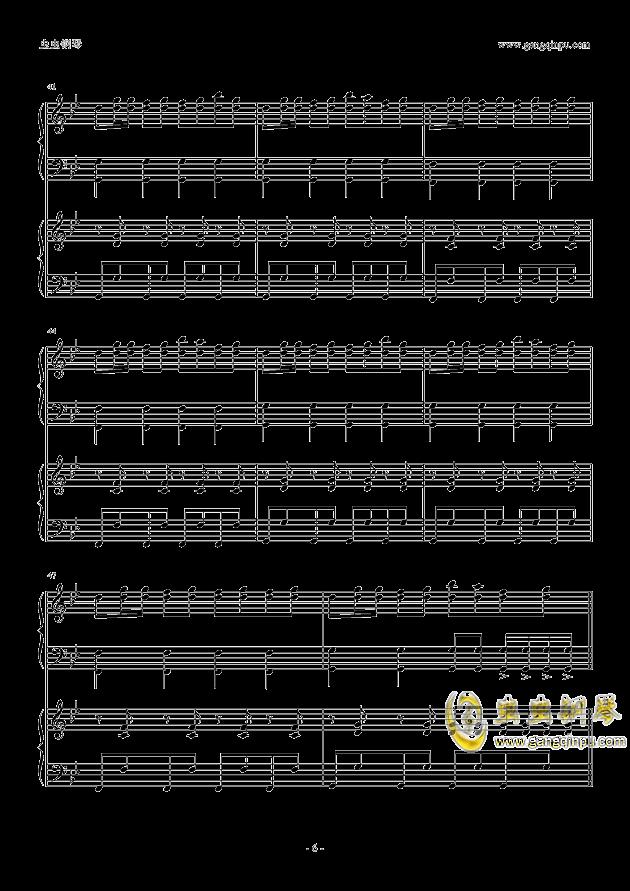 小苹果(双钢琴版)钢琴谱-筷子兄弟-虫虫钢琴谱免费下载