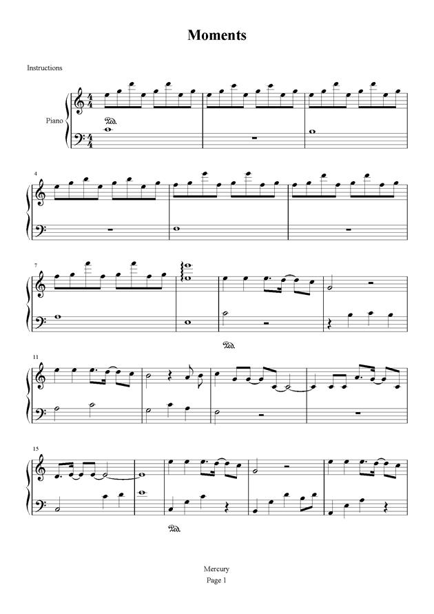 虫虫钢琴 钢琴谱 >> 华语女歌手 >> 邓紫棋 >>瞬间