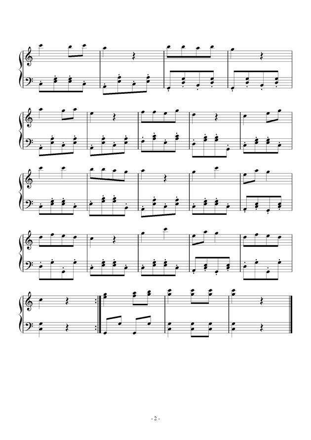 祖国祖国我们爱你钢琴谱-儿童歌曲-虫虫钢琴谱免费下载