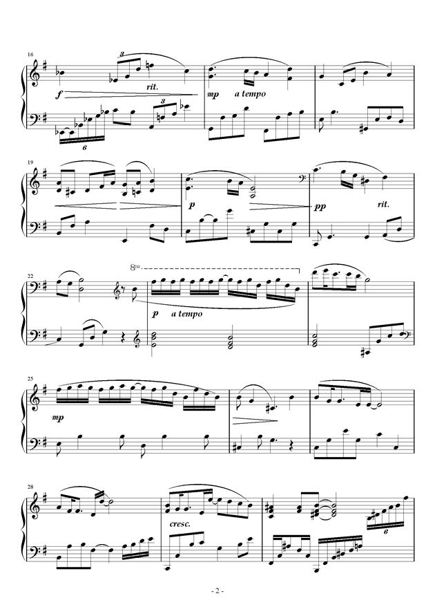 夜梦曲谱_洋娃娃的梦钢琴曲谱