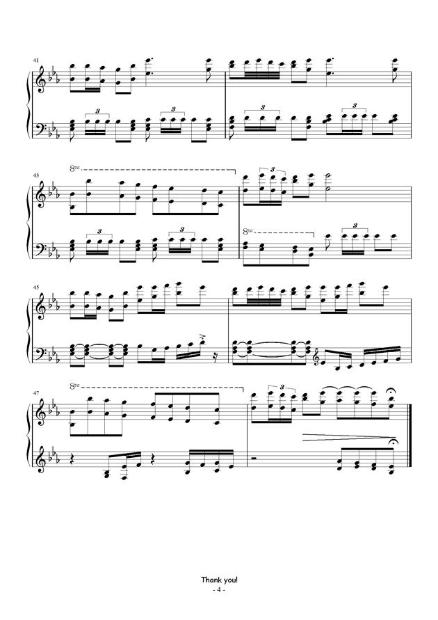 冒险岛-蘑菇城内钢琴谱-冒险岛-虫虫钢琴谱免费下载