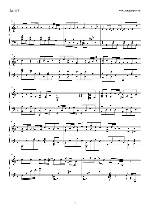 知否钢琴谱简谱_知否简谱