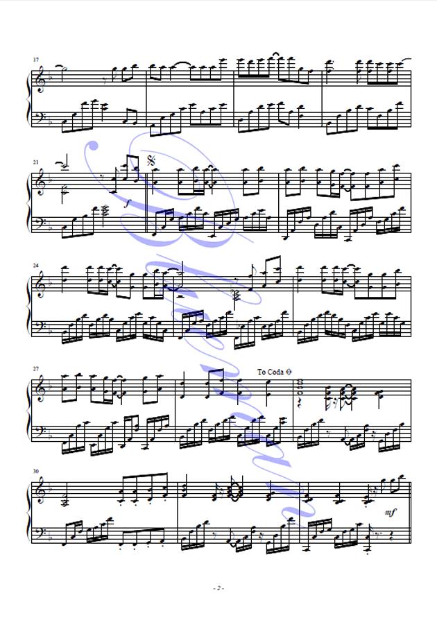 快乐你懂的钢琴曲谱