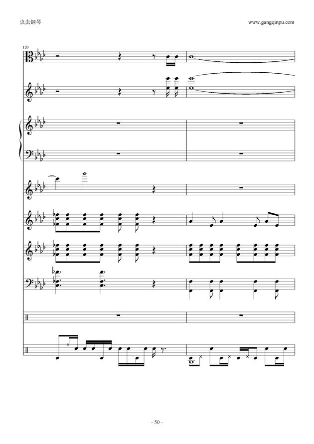 神调曲谱朗读