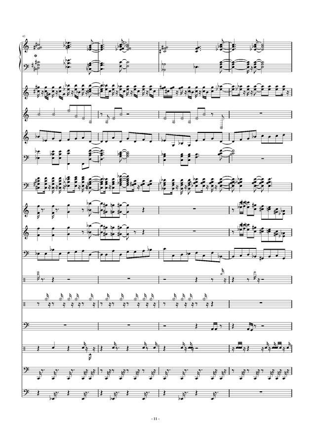 六音调曲谱_钢琴简单曲谱