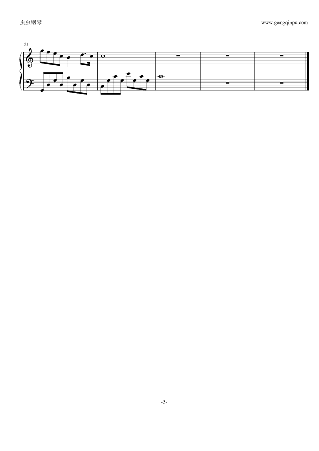 样 最佳好听版钢琴谱-tfboys-虫虫钢琴谱免费下载