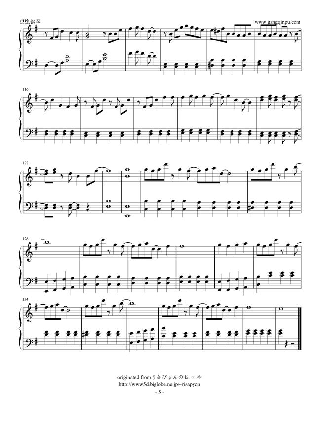 岚- truth钢琴谱-arashi-虫虫钢琴谱免费下载
