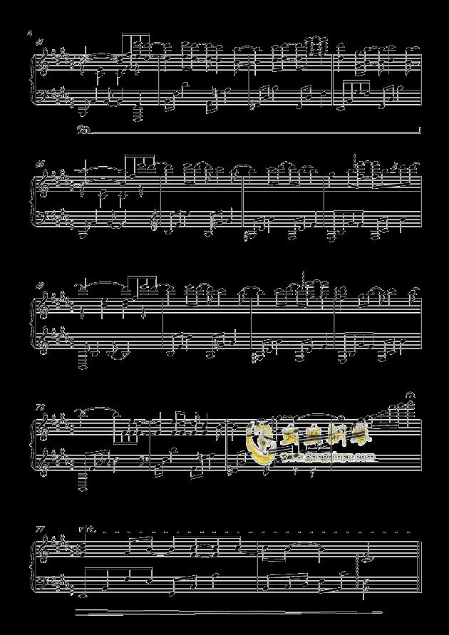 告白气球 完美演奏版钢琴谱-周杰伦-虫虫钢琴谱免费