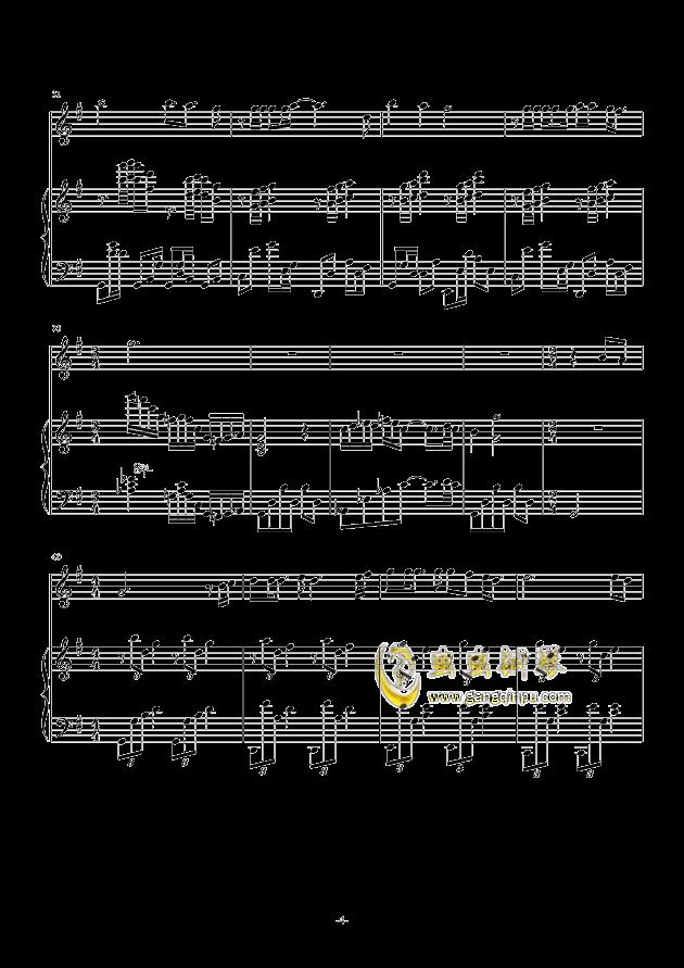 海阔天空钢琴谱-陈嘉璐-虫虫钢琴谱免费下载