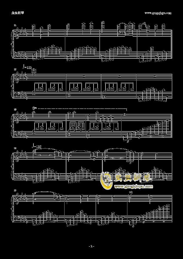 area钢琴谱-萌萌彩虹岛-虫虫