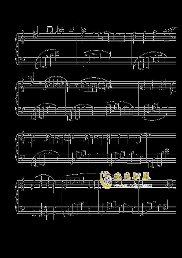 追钢琴谱-张国荣-虫虫钢琴谱免费下载