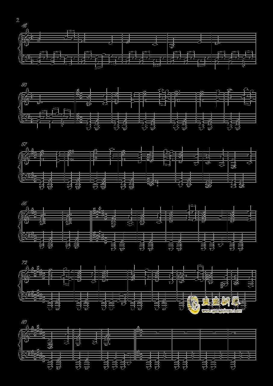davy jones钢琴谱 第2页