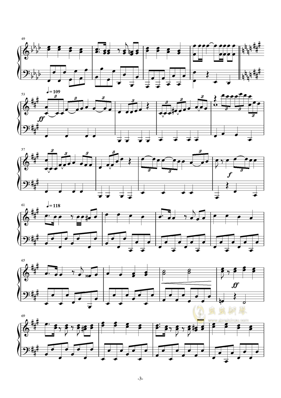 虫虫钢琴 钢琴谱 >> 名人名曲 >> 世界名曲 >>军队是我家