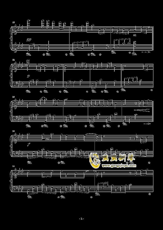 遇见钢琴谱 第2页