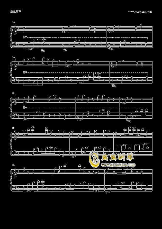 大鱼海棠—印象曲钢琴谱-大鱼海棠-虫虫钢琴谱免费-往日时光钢琴谱 图片