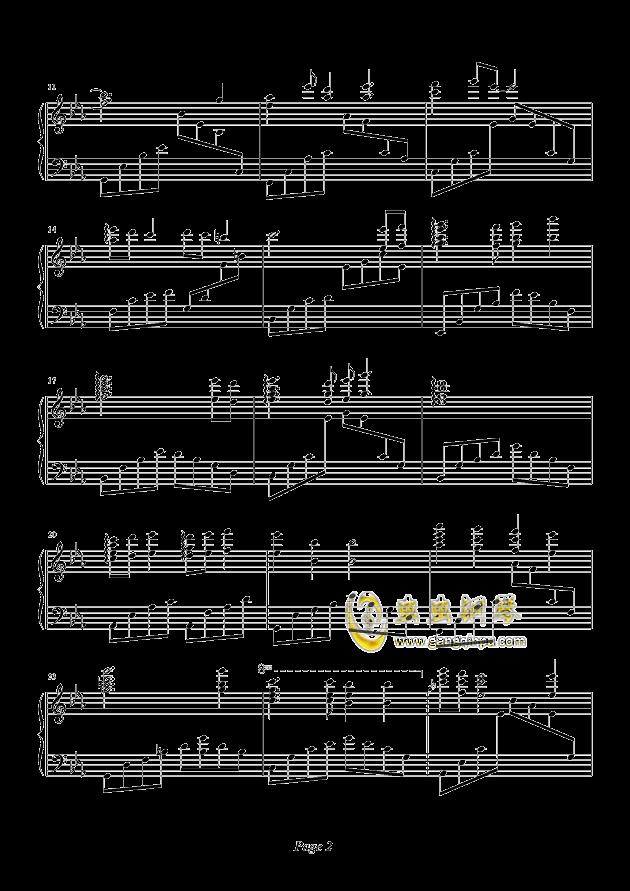 天空之城钢琴谱-久石让-虫虫钢琴谱免费下载