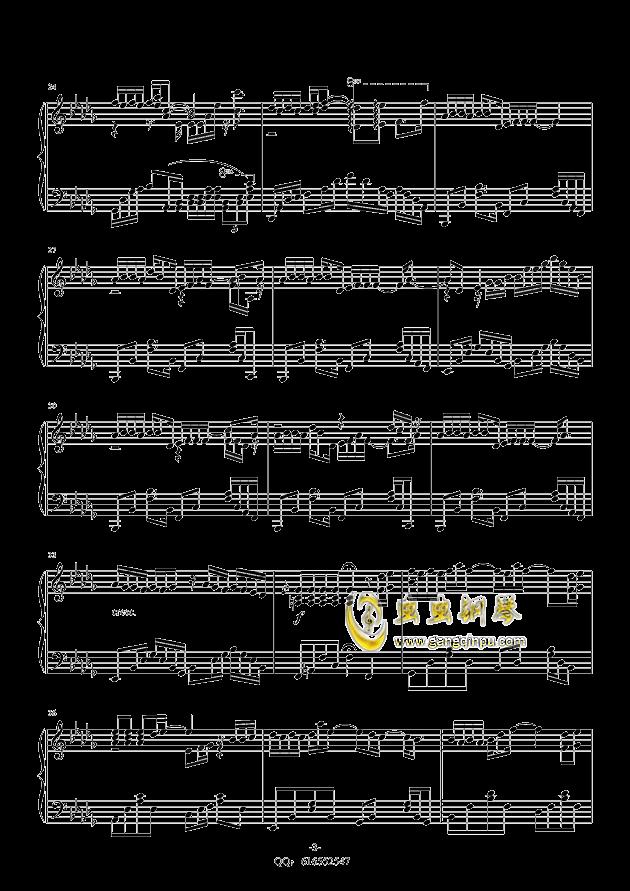 薛之谦的演员钢琴简谱
