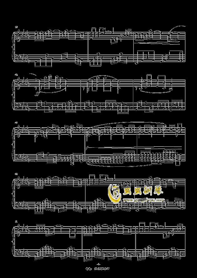 丑八怪钢琴谱 第4页