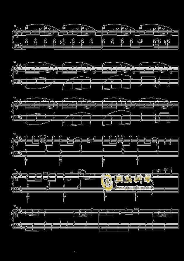 菊次郎的夏天钢琴谱 第3页