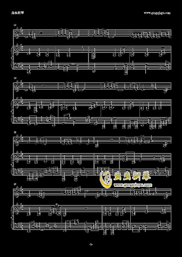 情人-伴奏钢琴谱-邓紫棋-虫虫钢琴谱免费下载