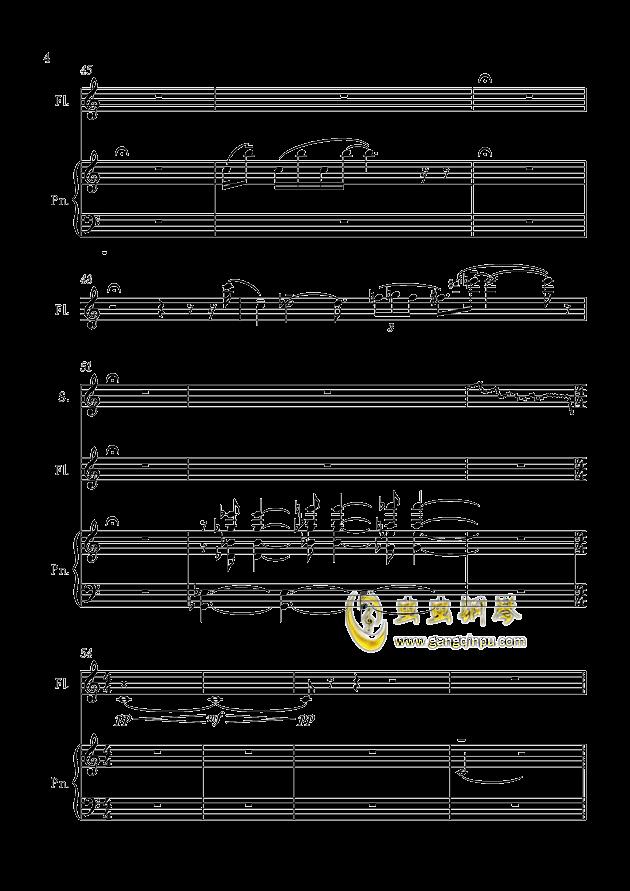 c调·茉莉花 (版本i)钢琴谱-流行追梦人-虫虫钢琴谱