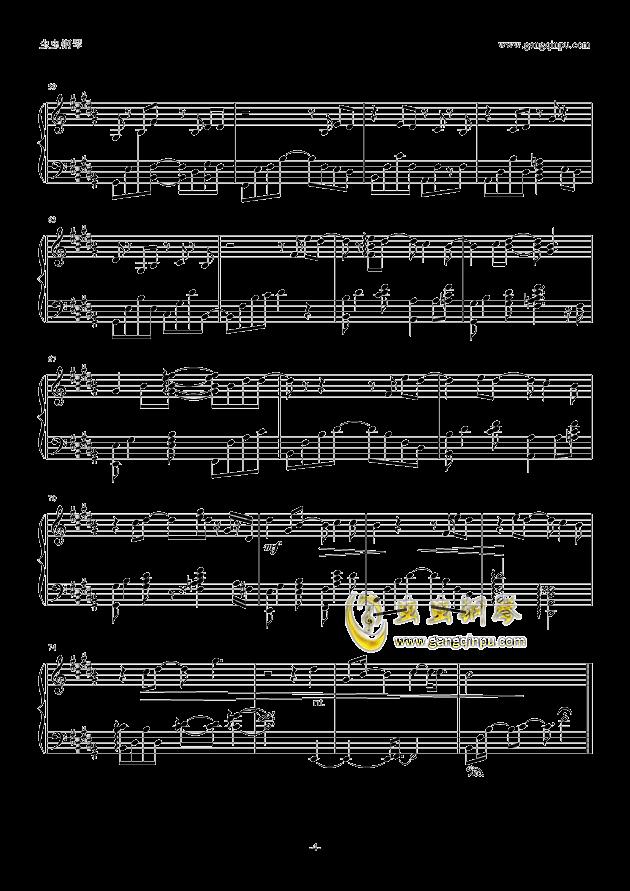 告白气球钢琴谱-周杰伦-虫虫钢琴谱免费下载