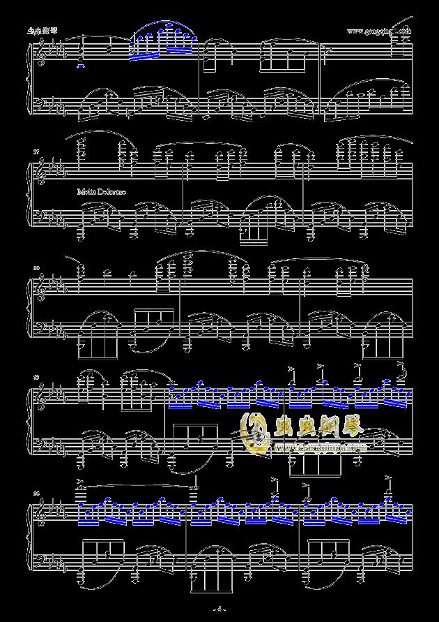 【大鱼海棠】印象曲《大鱼》(华丽独奏版)钢琴谱-大鱼