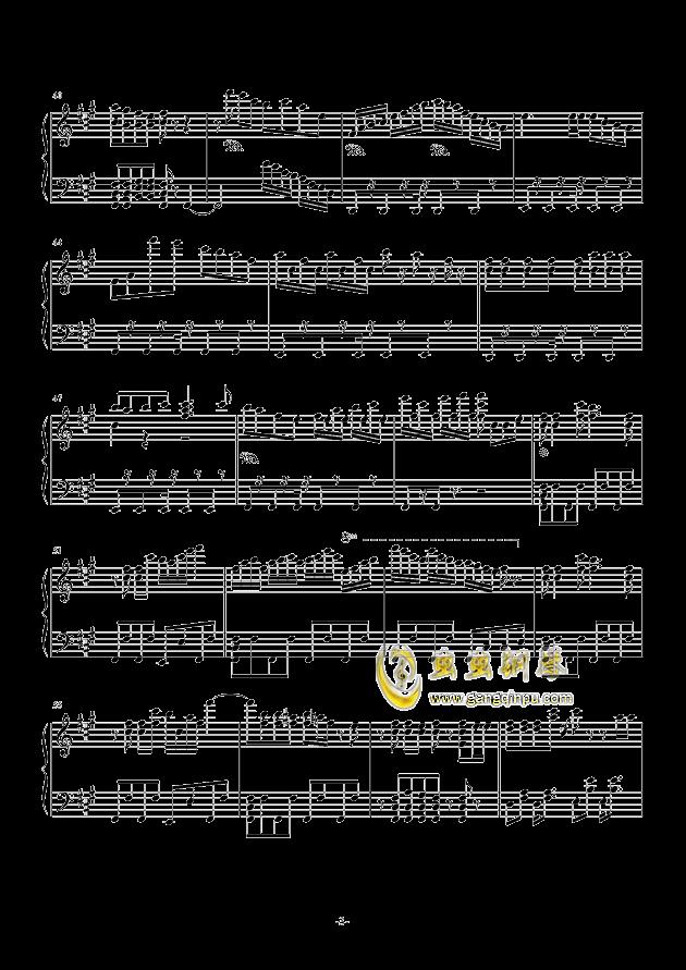 凉夏清晨钢琴谱 第3页