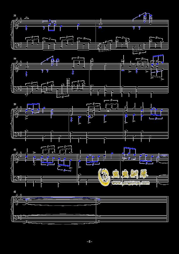 冒险岛—克拉码头钢琴谱-冒险岛-虫虫钢琴谱免费下载