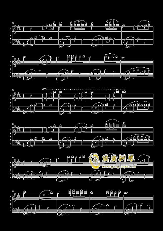 夜的钢琴曲(五)钢琴谱-石进-虫虫钢琴谱免费下载图片