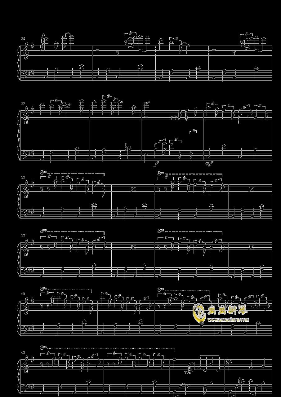 欧美男�yg�Y��*���n_暗恋,暗恋钢琴谱,暗恋G调钢琴谱,暗恋钢琴谱大全,虫虫钢琴