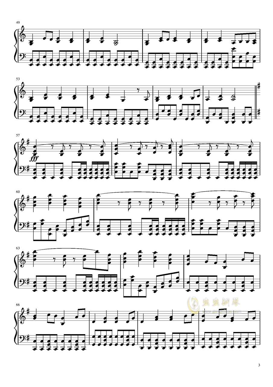 i want my tears back钢琴谱 第3页