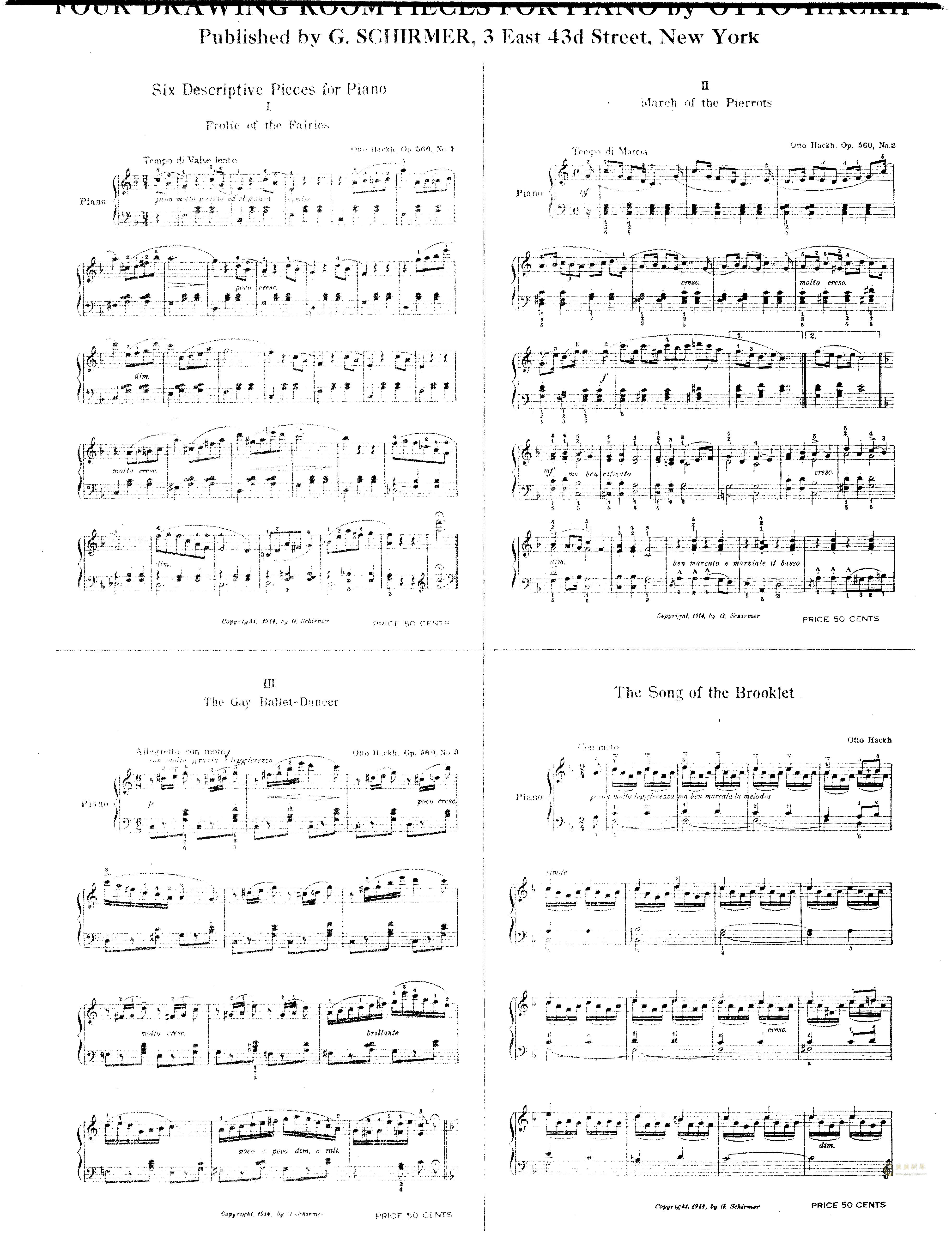 b小调夜曲钢琴谱 第10页
