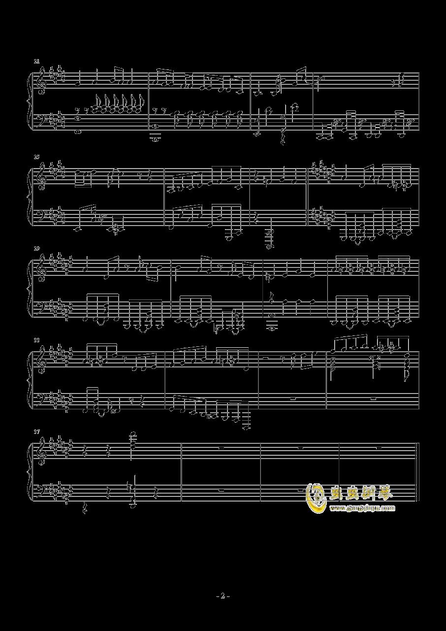日剧四重奏edおとなの掟钢琴谱 第2页