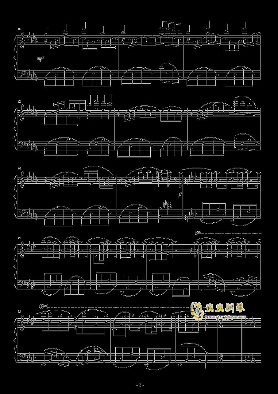 风の语钢琴谱 第2页