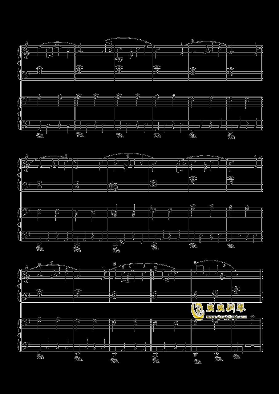 天空之城钢琴谱 第3页图片
